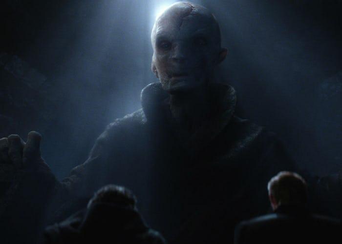 Snoke The Force Awakens