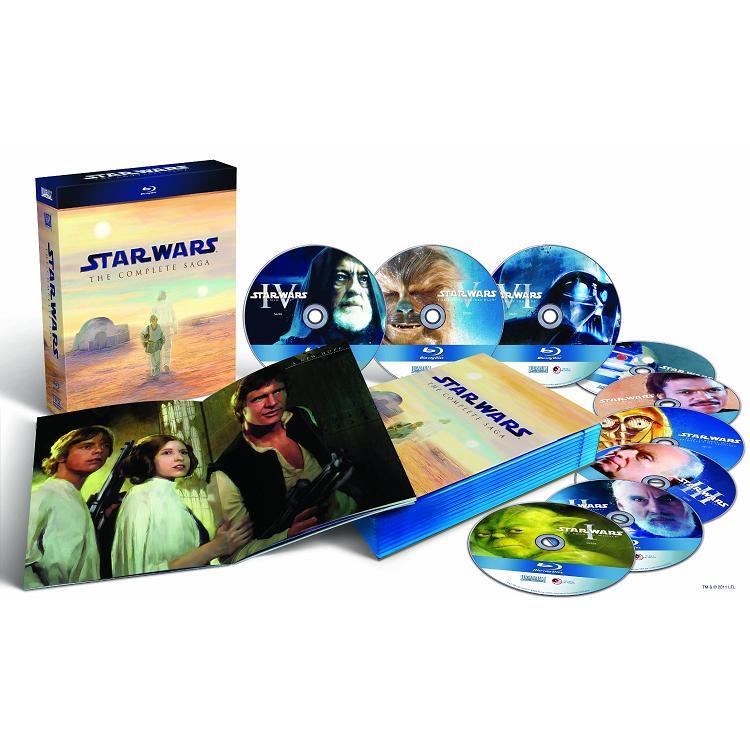 Star Wars Blu Discs