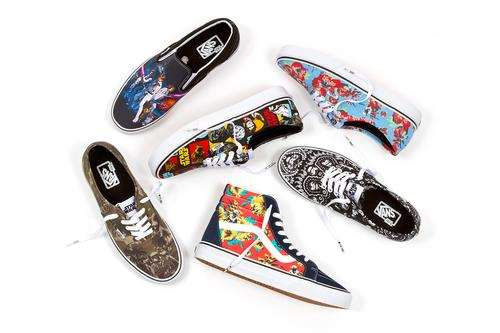 851ce97c973 The Vans x Star Wars collection kicks off with a six-piece offering from  Classics. Aligning with the Dark Side