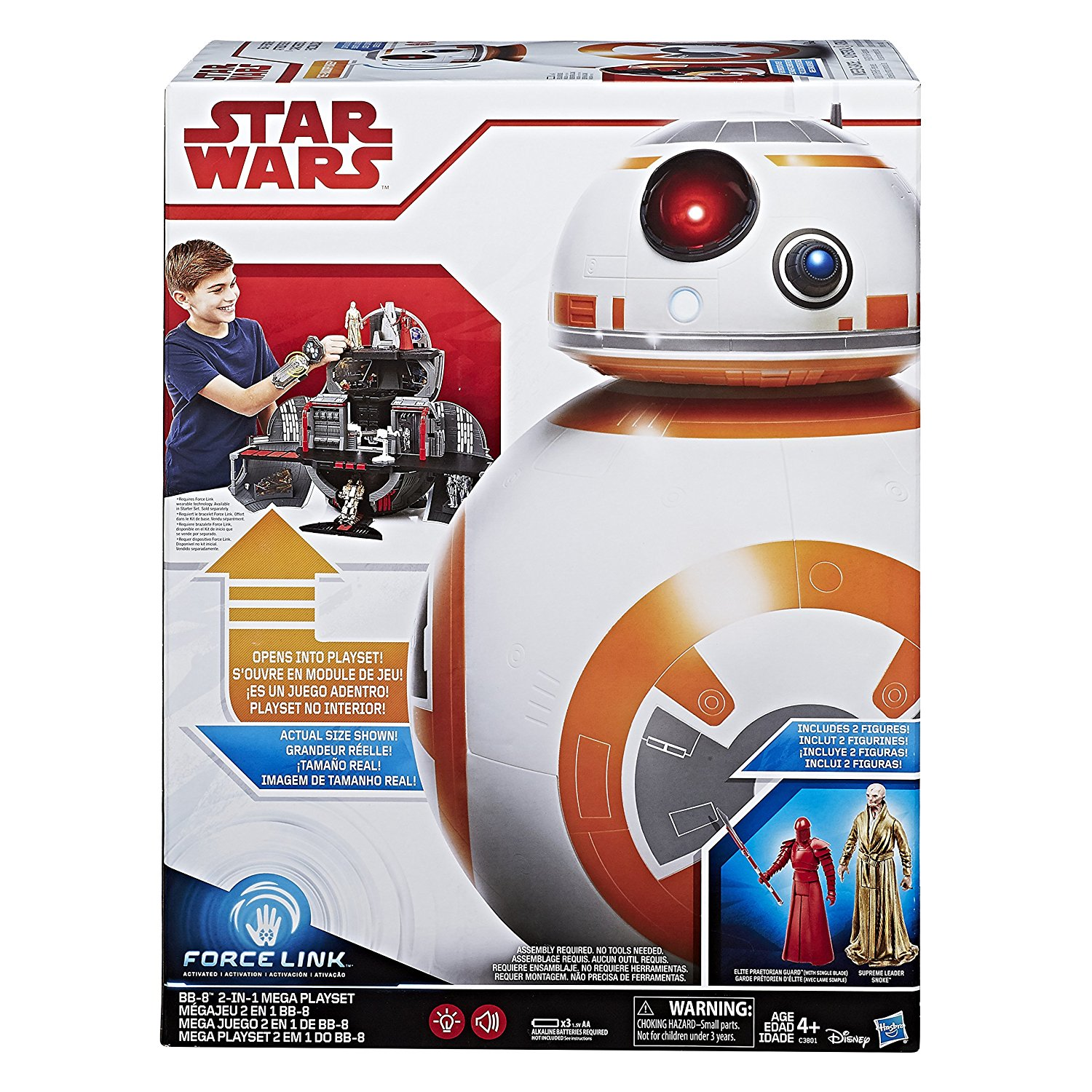 [COLLECTION] SW : Episode VIII : The Last Jedi (spoilers) BB8playsetwithsnoke1