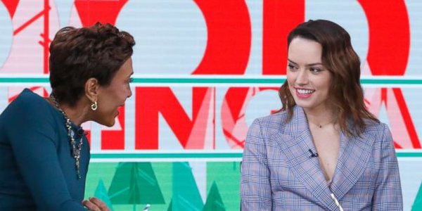 Daisy Ridley On Good Morning America