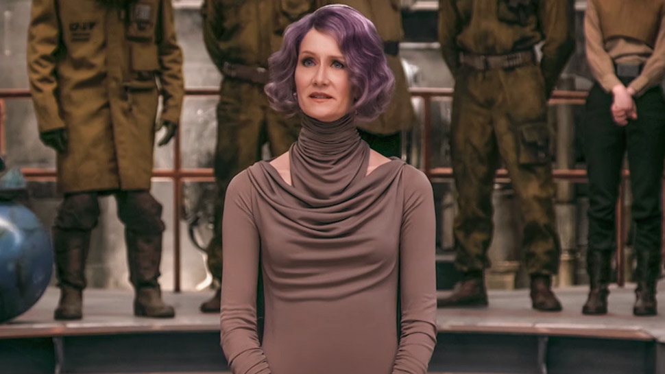 Admiral Holdo-Laura Dern