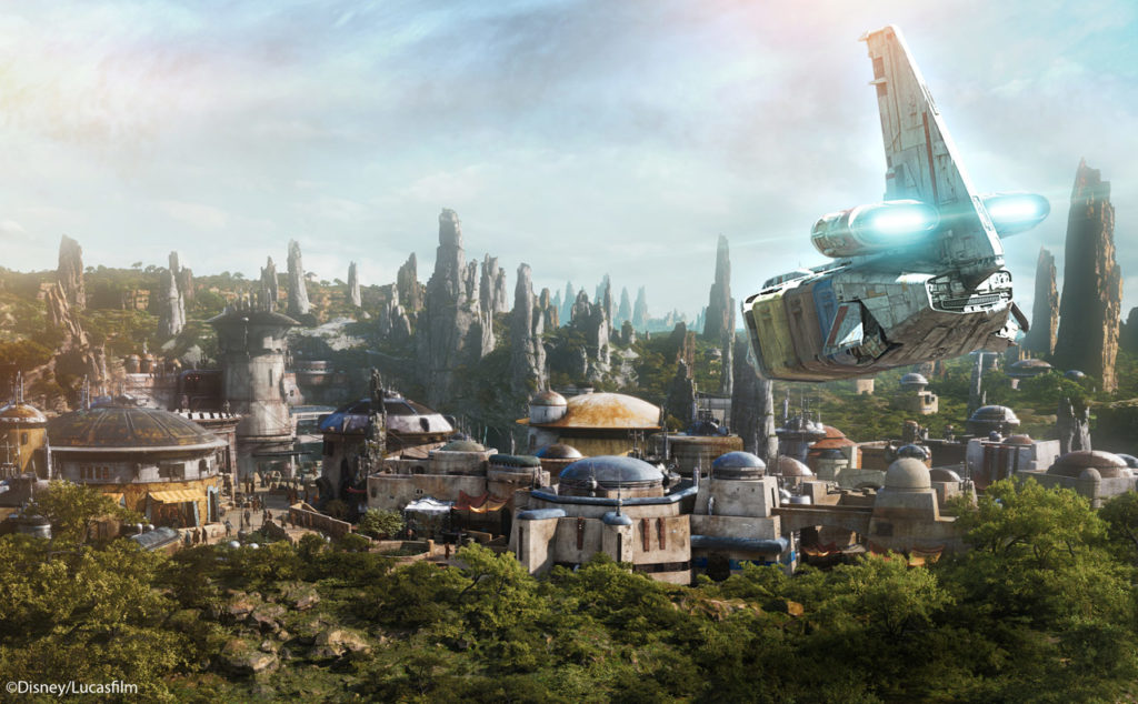 Star Wars Black Spire Outpost Galaxy's Edge