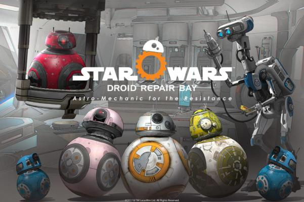 Droid Repair Bay