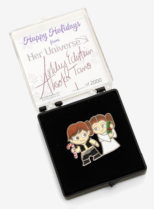 Her Universe Holiday Pin