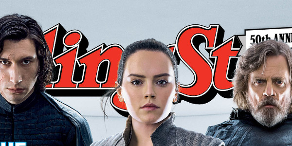 RollingStone The Last Jedi Cover