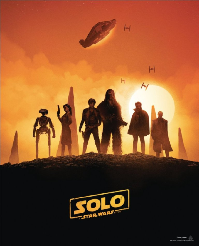 B&N Solo Poster