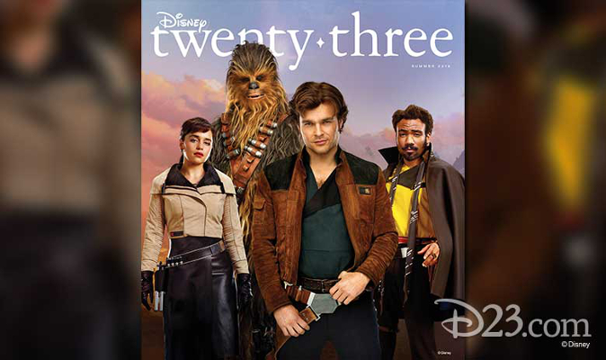 Solo D23 Cover