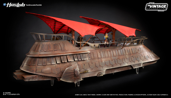 Hasbro The Vintage Collection Jabbas Sail Barge The Khetanna Now Available Overseas
