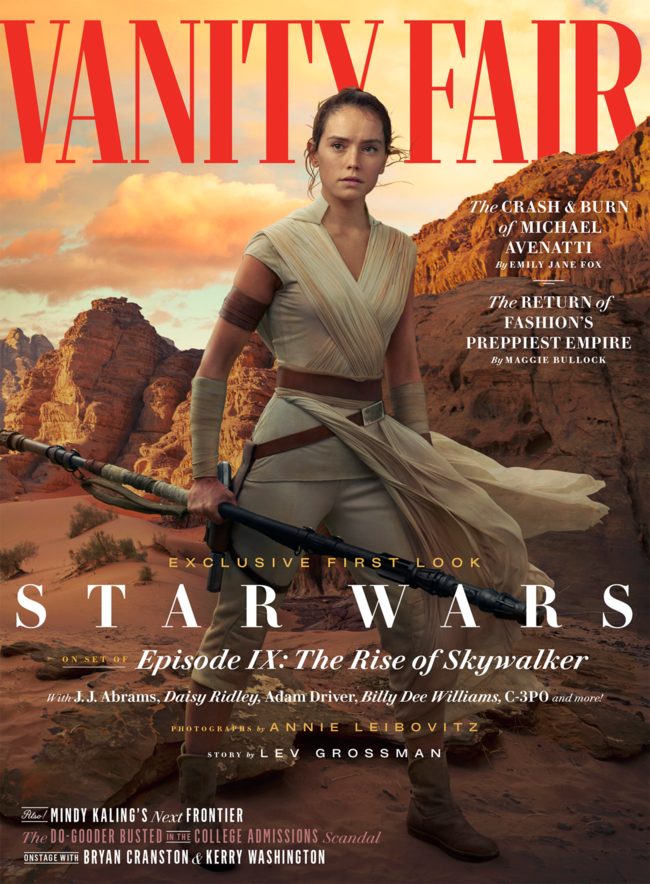 Vanity Fair Star Wars The Rise Of Skywalker