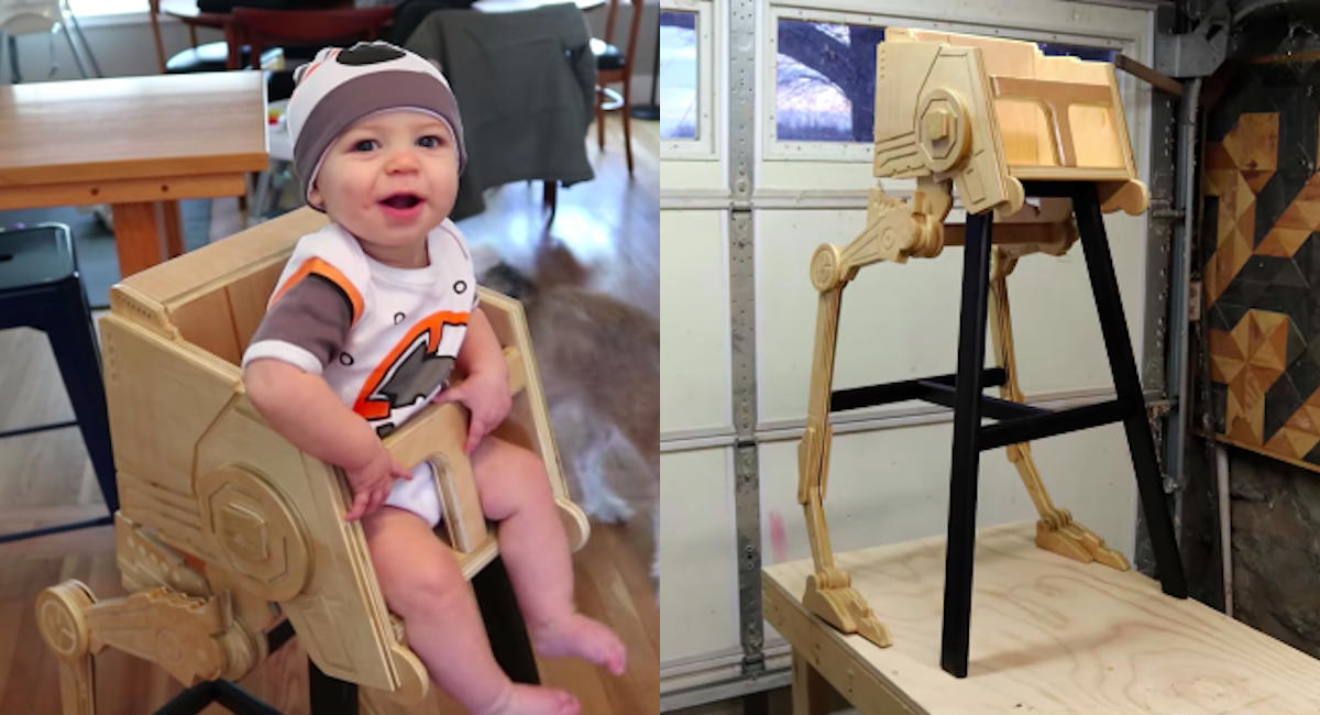 AT-ST STAR WARS highchair