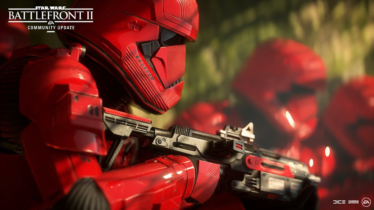 Star Wars Battlefront 2 Sith Troopers