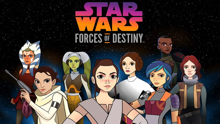 Star Wars Forces of Destiny: Volume 3