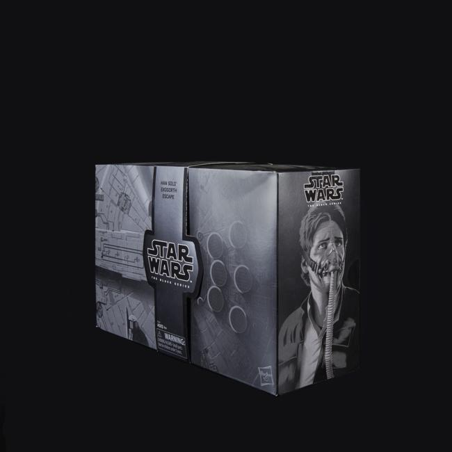 STAR WARS THE BLACK SERIES HAN SOLO AND MYNOCK