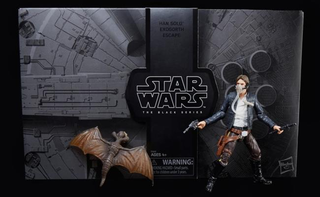 STAR WARS: THE BLACK SERIES HAN SOLO AND MYNOCK