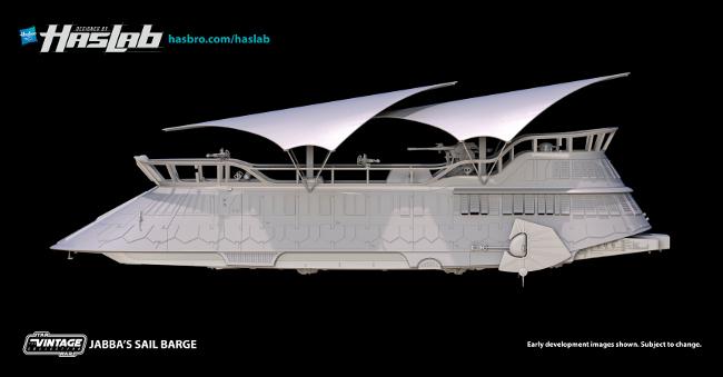 Haslab Jabba's Sail barge