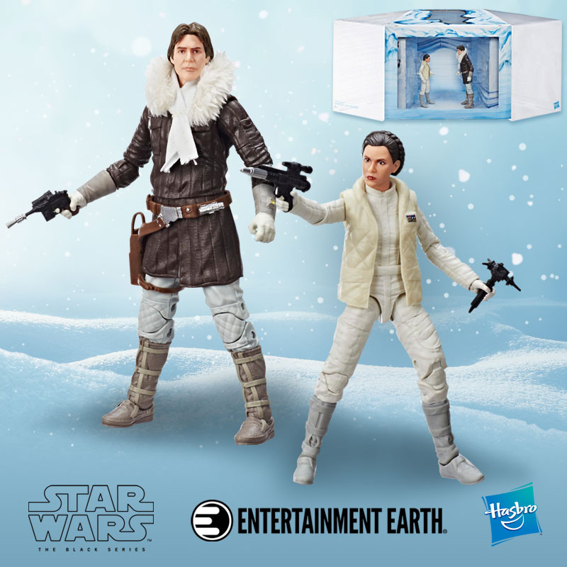 The Black Series Hoth Princess Leia Organa And Han Solo