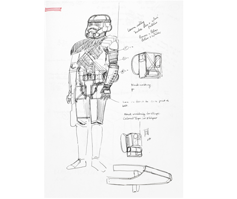 John Mollo Sketch