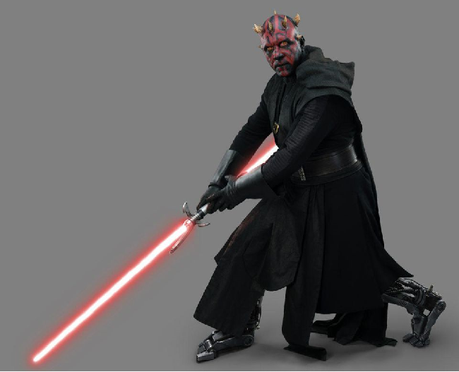 Maul With Robot Legs