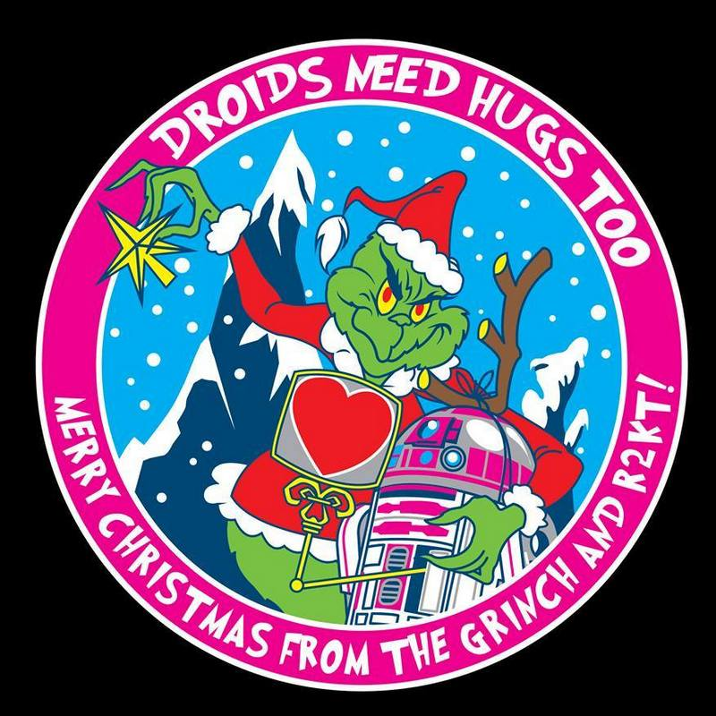 R2-KT Christmas patch