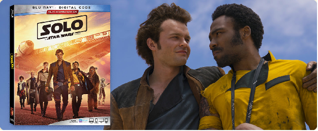 Solo Blu-Ray Banner