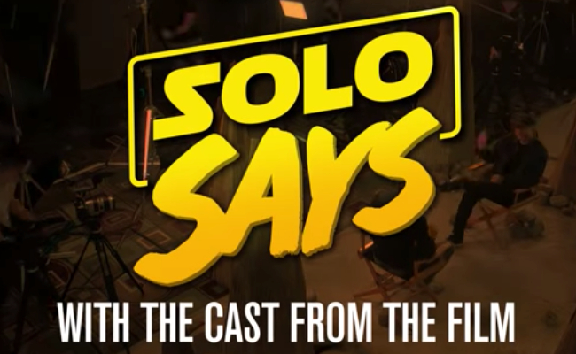 SOLO SAYS