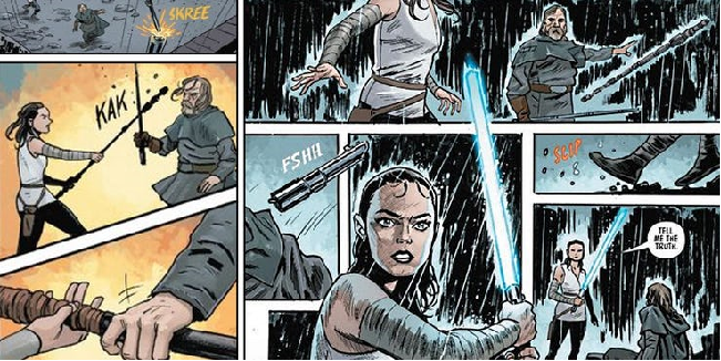 The Last Jedi Comic Book