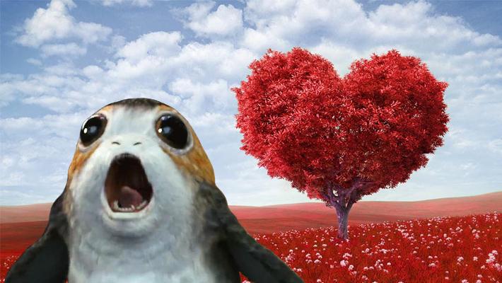 Valentines Day Porg