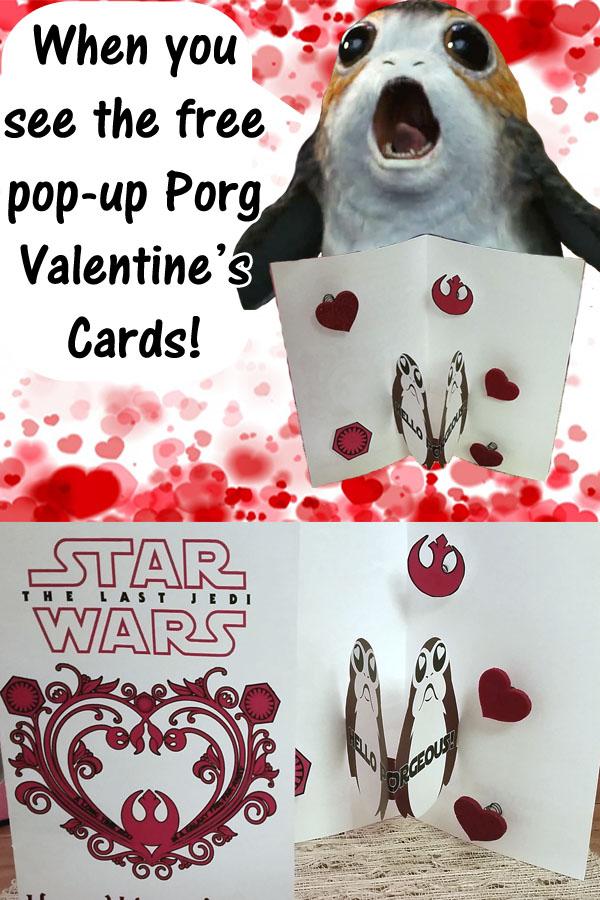Valentine's Day Porg