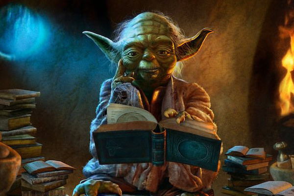 Yoda Reads Books