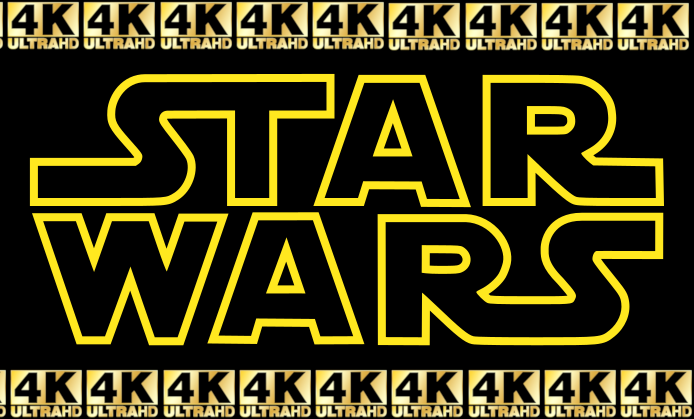 THE STAR WARS SAGA IN 4K