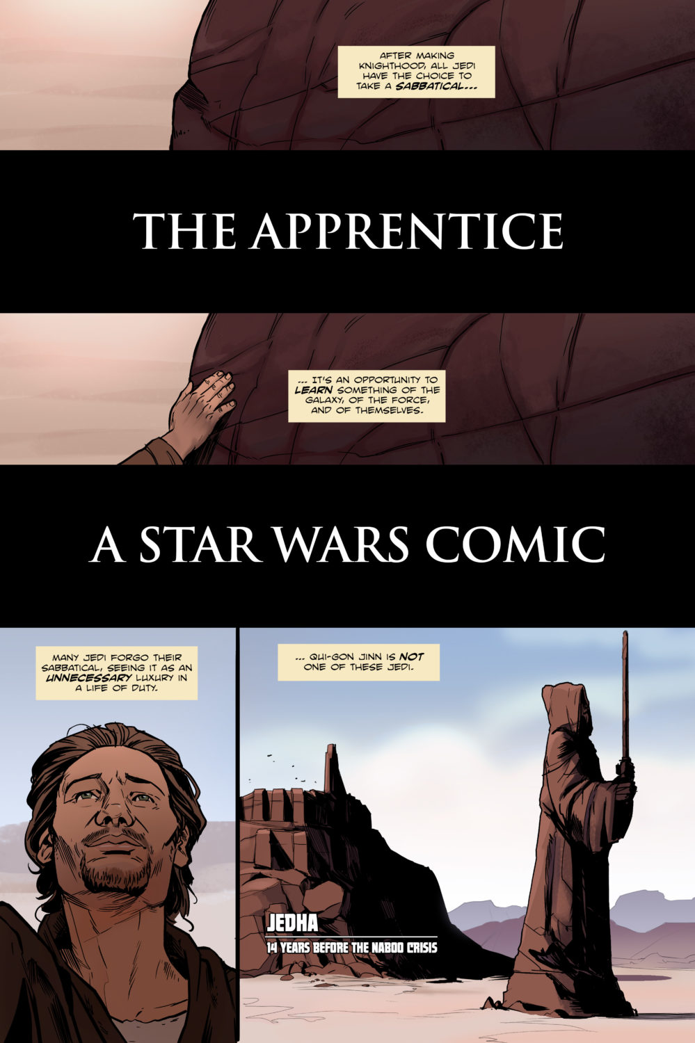A Star Wars Comic