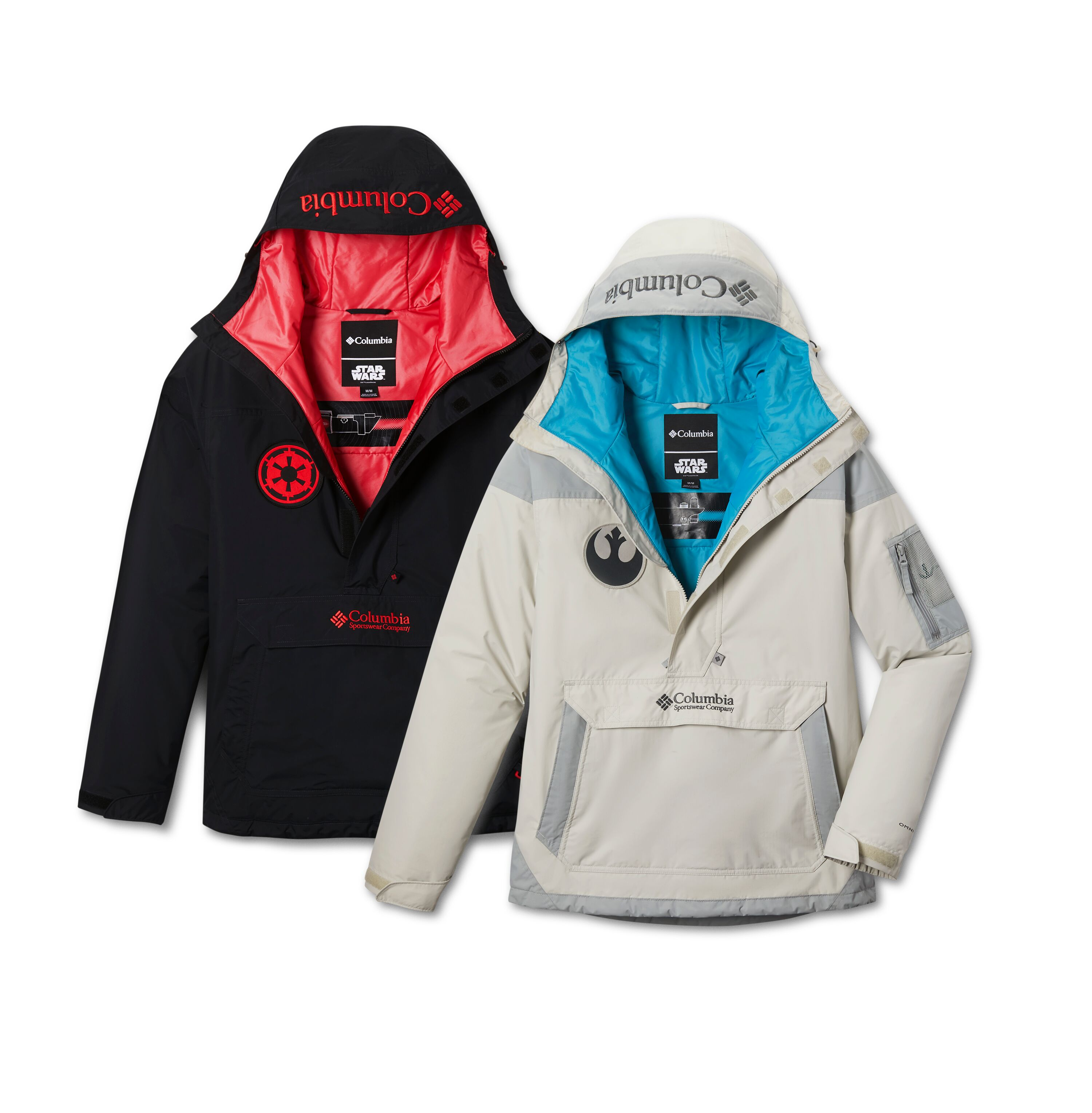 Choose Your Side Columbia Unveils New Star Wars Themed Jackets