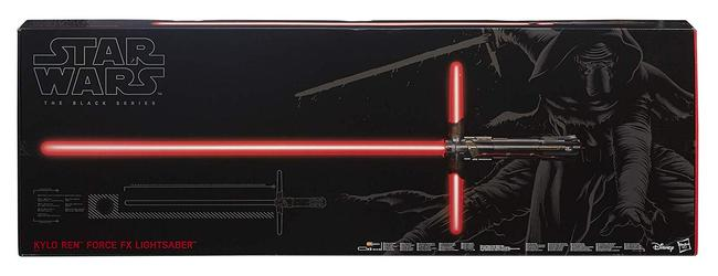 The Force Awakens Kylo Ren Force FX Deluxe Lightsaber Prop Replica