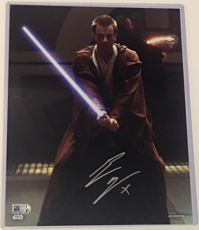 Ewan McGregor Exclusive Star Wars Celebration 2019 Autograph