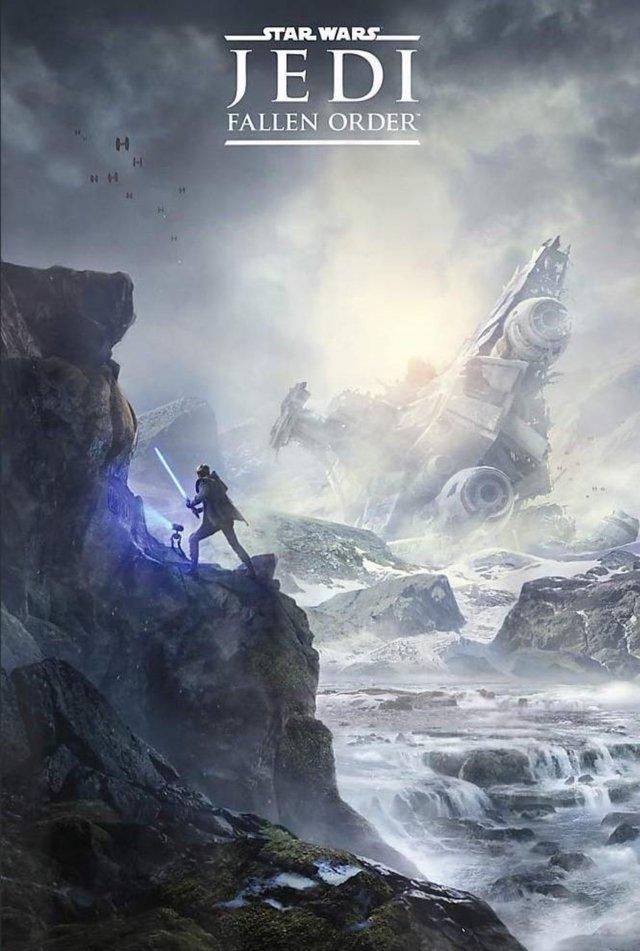 Poster For Jedi Fallen Order