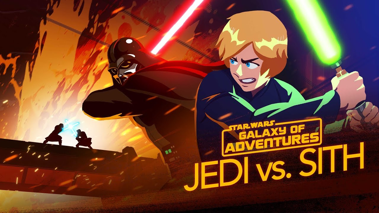 Star Wars Galaxy Of Adventures Jedi vs Sith Skywalker Saga