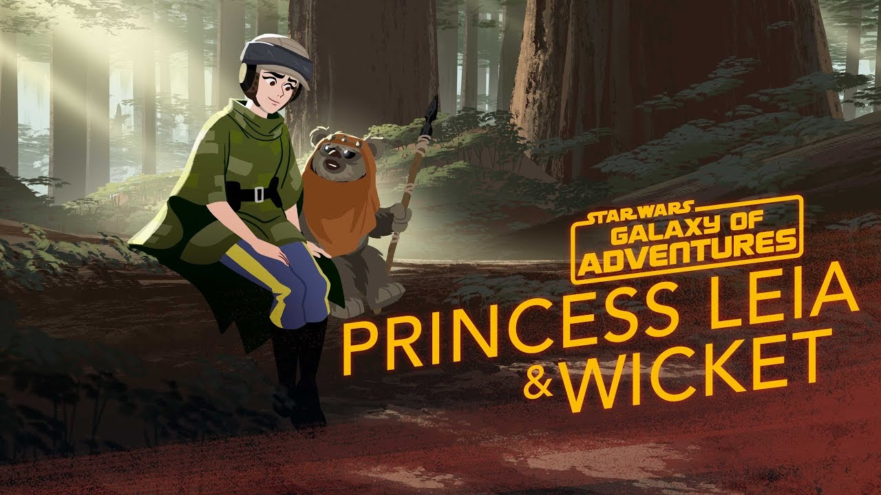 Princess Leia Makes An Unexpected Friend In Star Wars Galaxy of Adventures