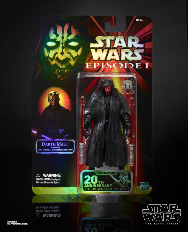 STAR WARS THE BLACK SERIES DUEL OF THE FATES 6-INCH DARTH MAUL