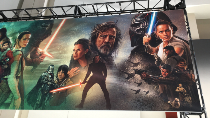 Star Wars Saga Mural Star Wars Celebration 2019