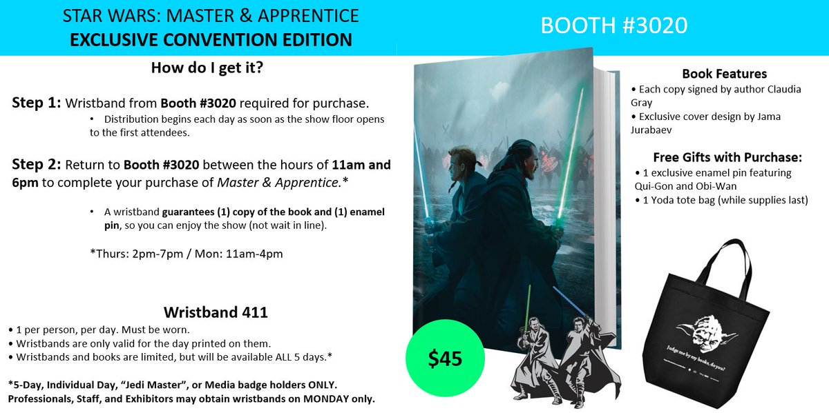 Details On How To Get The Star Wars Master and Apprentice Exclusive Convention Edition