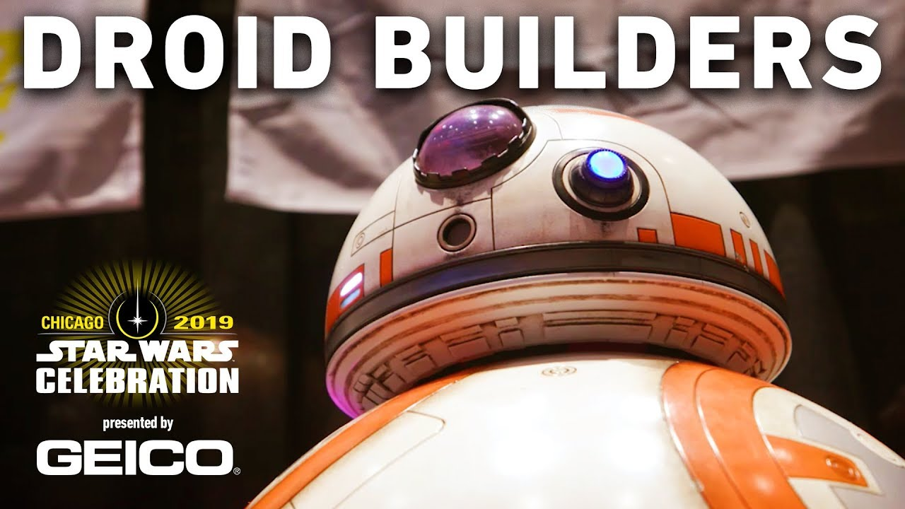 Unbelievable Droid Building At Star Wars Celebration