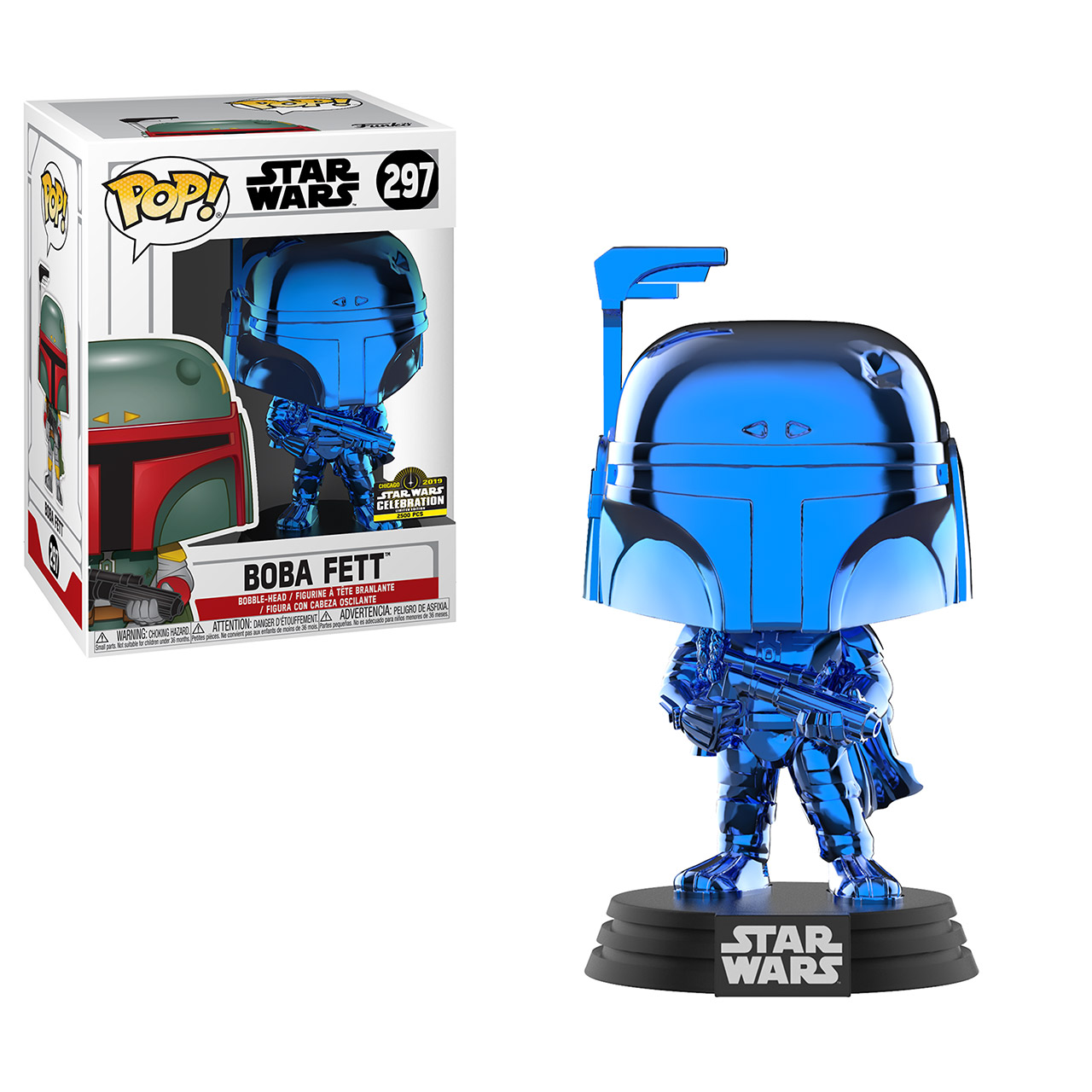 Star Wars Celebration 2019 Funko Exclusive POP 297