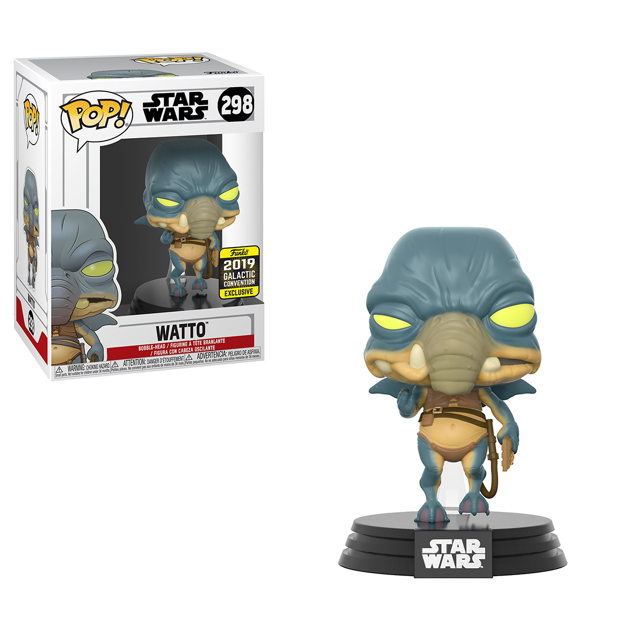 Star Wars Celebration 2019 Funko Exclusive POP 298