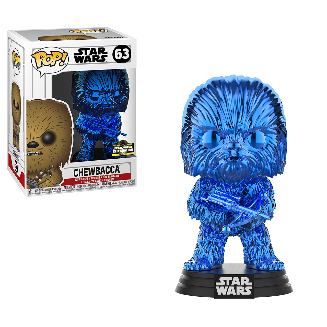 Star Wars Celebration 2019 Funko Exclusive POP 63
