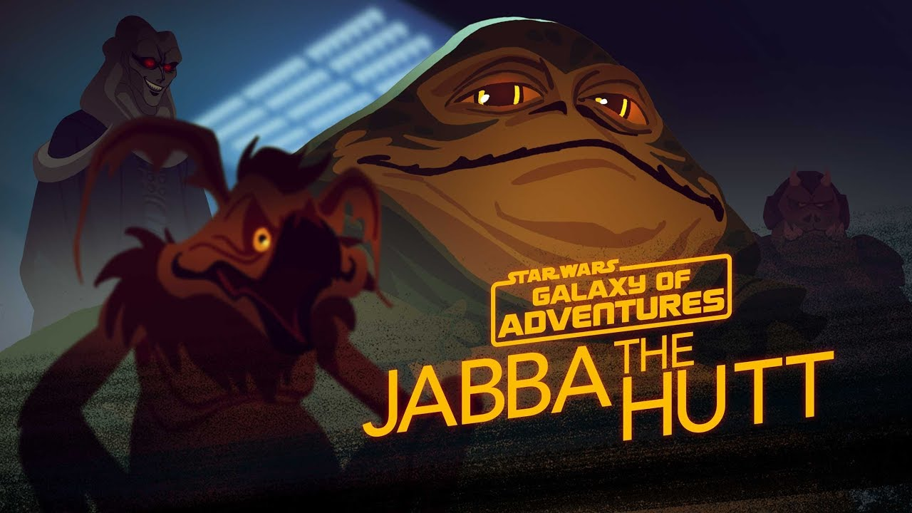 Star Wars Galaxy Of Adventures Jabba The Hutt Galactic Gangster