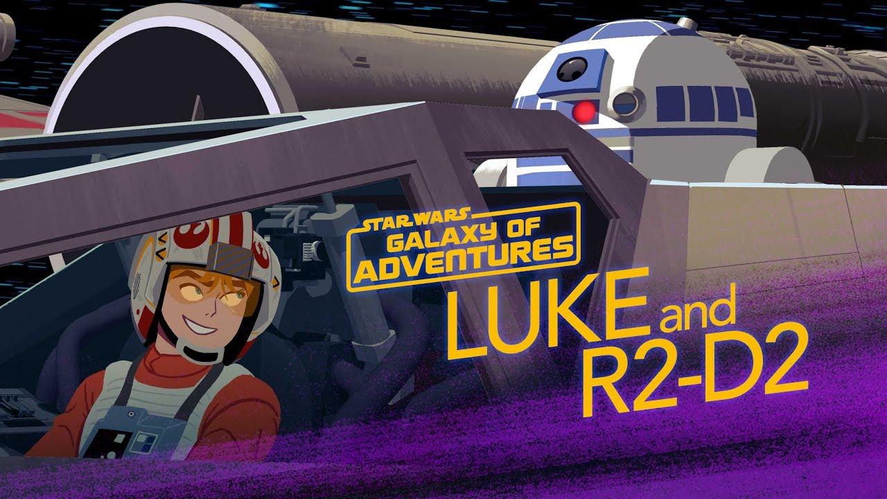 Star Wars Galaxy Of Adventures R2D2 A Pilots Best Friend