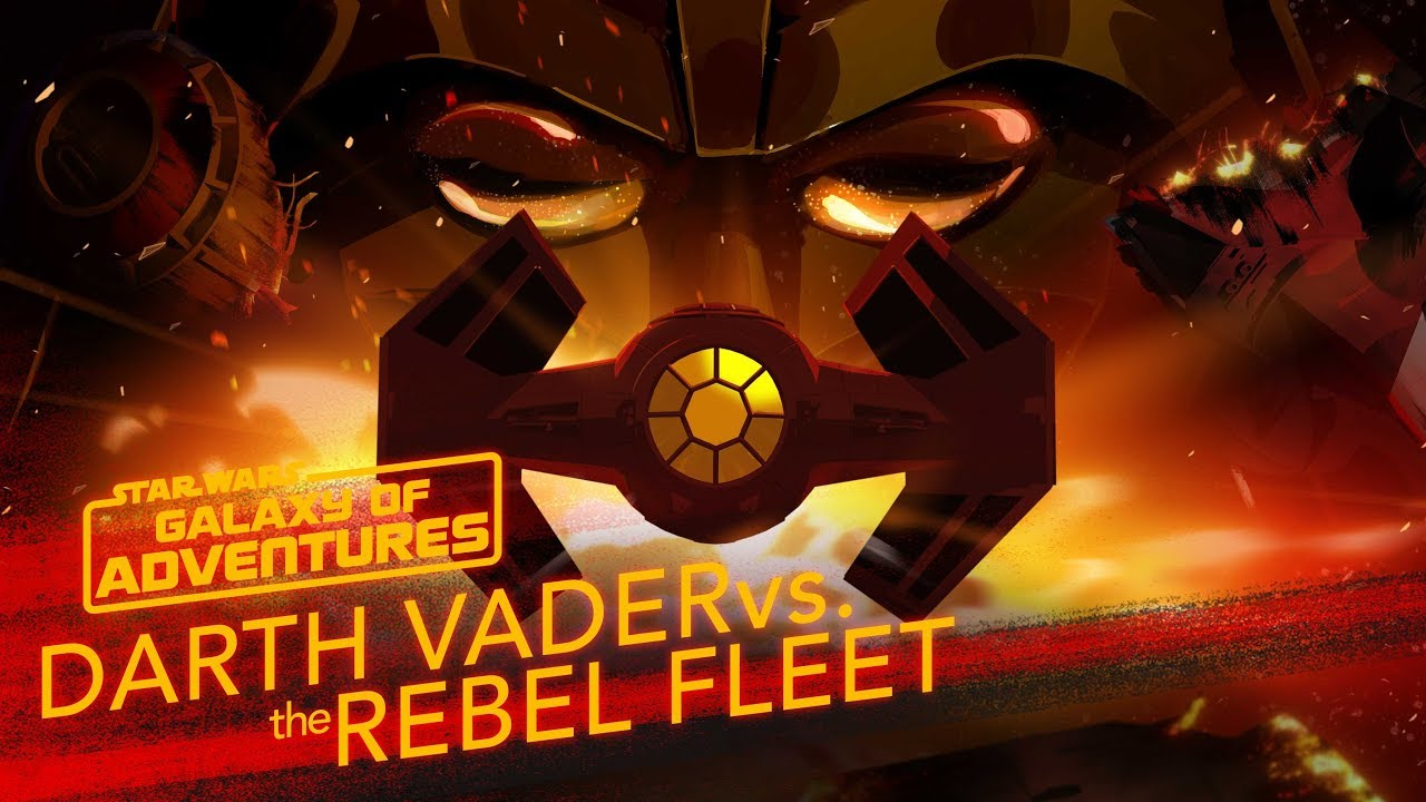 Star Wars Galaxy of Adventures Darth Vader vs the Rebel Fleet