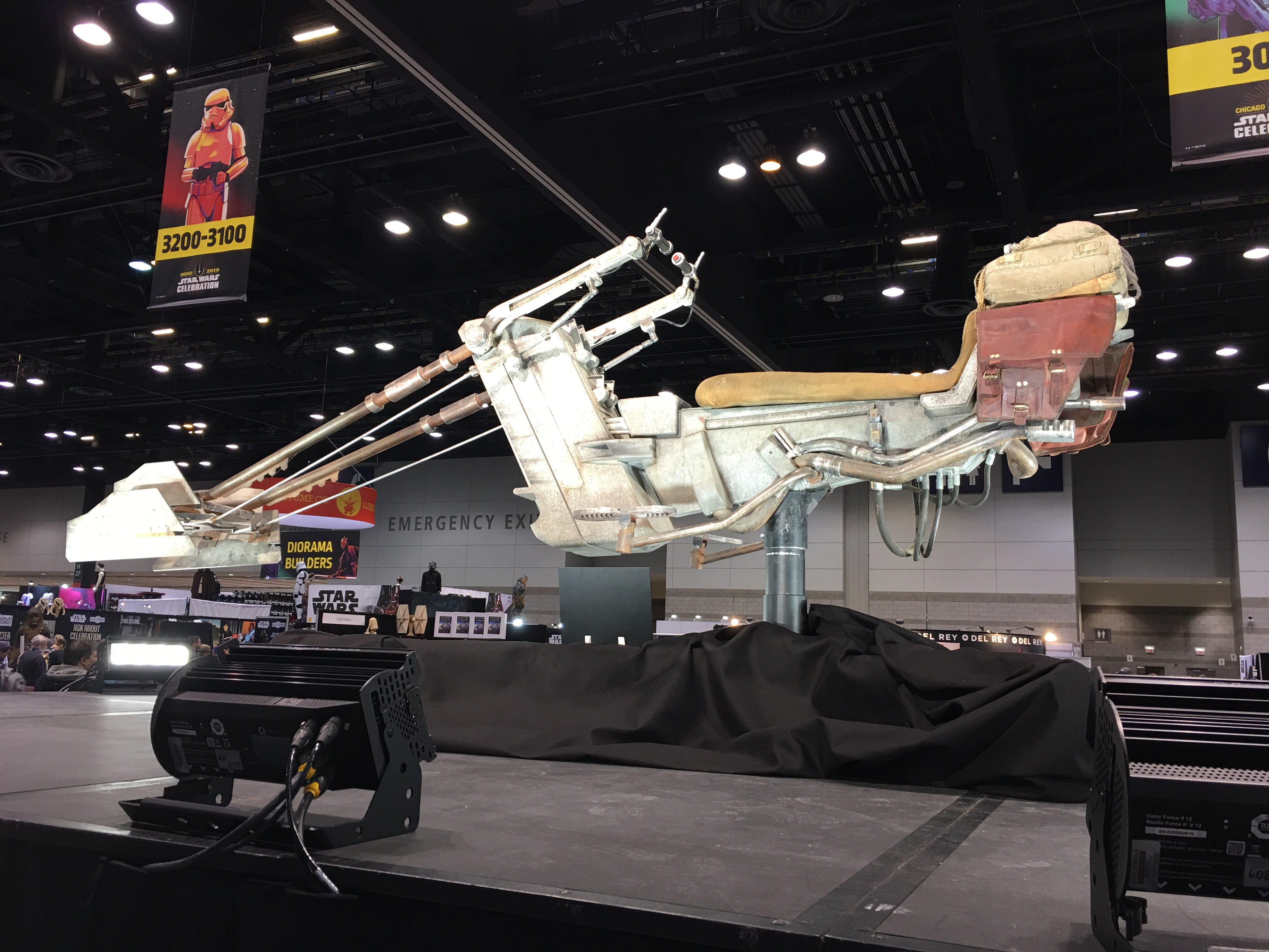 Speeder Bike Prop From The Mandalorian At Star Wars Celebration Chicago 2019