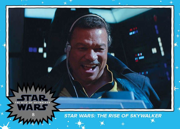 Topps Star Wars The Rise of Skywalker Trailer 10 Card Set